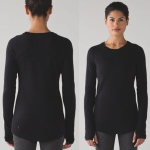 LULULEON Sit in Lotus Sweater Black {O11}